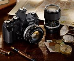 Photography enthusiasts will enjoy Nikon's latest release - a full-frame camera that sports a retro style and supports both new and vintage lenses