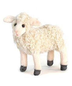 Look what I found on #zulily! Cream Lamb Plush Toy #zulilyfinds