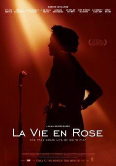 vie en, edith piaf, cinema, en rose, roses, la vie, favorit foreign, movi, foreign films
