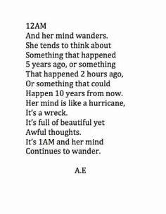 Her mind is my mind...