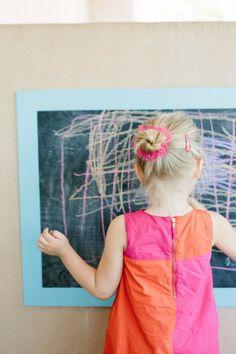 Simple DIY Outdoor Chalkboard