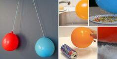 E is for Explore!: Static Electricity experiments