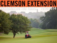 Turfgrass Field Day offers the opportunity to share current research and field demonstrations as well as exciting new products, procedures, and problems in the commercial turfgrass arena. #ClemsonExt100