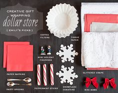 Dollar store wrapping ideas