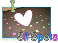 Sit Spots are wonderful!