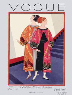 November Edition. Vogue 1925. Vintage Vogue Covers #vintage #vogue #covers