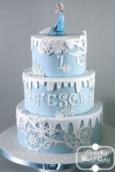 "Elegant ""Frozen"" Cake"