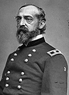 General George Gordon Meade. (Dec 31, 1815 - Nov 6, 1872) United States Army Officer and civil engineer in coastal construction. He fought with distinction in the Seminole War and Mexican American War. During the American Civil War, he served as a Union General, rising from command of a brigade to the Army of the Potomac. He is best known for defeating Confederate General Robert E. Lee at the Battle of Gettysburg in 1863.