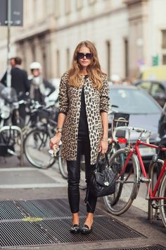 4 Ways To Style A Leopard Print Coat, Get Street Style Inspired