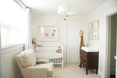 white simple nursery