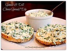 Spinach and Dill Cheese Spread/Dip