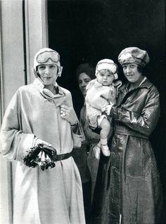 Bibi in driver suit 1923 Jacques-Henri Lartigue