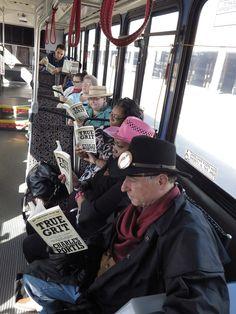 Kansas City is reading True Grit! @KCATA The Metro  http://kcbigread.org true grit