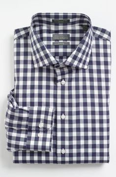 Awesome price for this trim-fit dress shirt. Wear it with jeans or slacks.