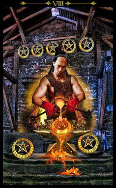 Tarot Illuminati, image by Erik Dunne