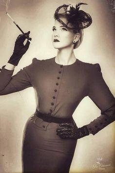 GRETEL ROSENGARD#photo #pinup #model #feature #DailyFeature...