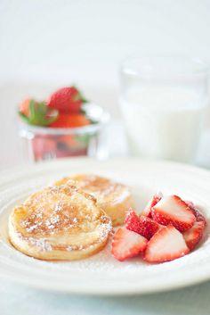 Bill Granger's Lemon Souffle Pancakes