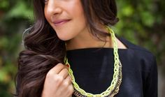 Rope, Meet Rhinestone: A New Statement Necklace to Try