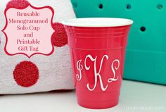 solo cup, inexpensive gift ideas, inexpens gift