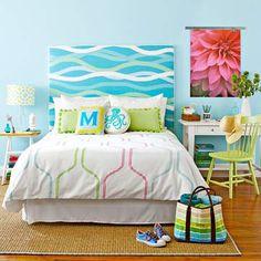 DIY Headboard Ideas - Beach House DecoratingBeach House Decorating