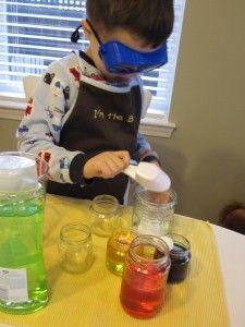 Pretend play science lab