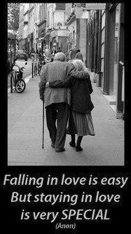 awe, this reminds me of a husband and wife who are my patients... they had been together for 68 years and they still looked at each other with so much love in their eyes!! The husband passed away a few months ago. The wife told me that she is sad to lose him, but even more than that, she is happy that she had 68 years with him.