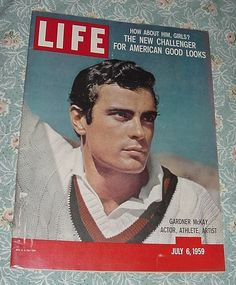 July 6, 1959 LIFE MAGAZINE ~ Gardner McKay on cover ~ WOW