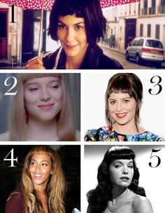 A Cut Above the Rest: 5 Beauties with Baby Bangs
