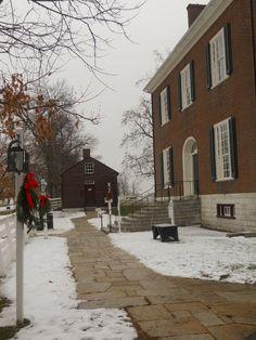 Winter at Shaker Village
