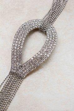 Crystal Teardrop Bracelet