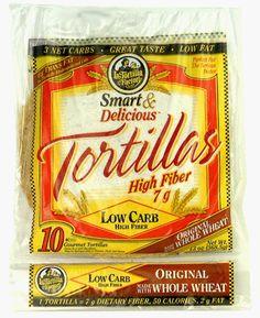 7 La Tortilla Factory Whole Wheat Low Carb Tortillas (Regular Size) $4.49