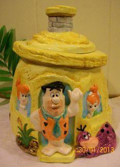 The Flintstones Cookie Jar