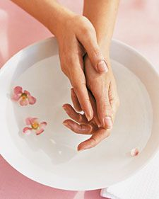 Learn how to take care of your hands and feet and treat yourself to at home manicures and pedicures with our easy tips.
