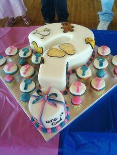 Gender Reveal Cake Pops | Gender reveal cake - Cake Decorating Community - Cakes We Bake
