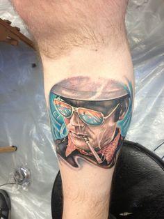 Very cool Hunter S. Thompson #tattoo