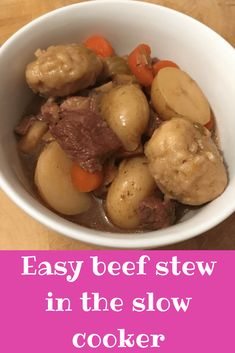 Easy beef strew in t
