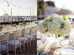 lime green wedding flowers, southern california wedding- newport beach