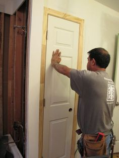 How to install a door