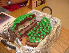 The Kennedy Korral Blog: Edible Landform Homework Project