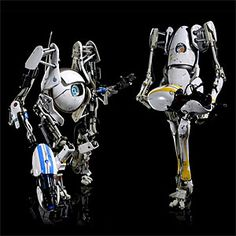 ThinkGeek :: Portal 2 1/6 Scale Designer Figures