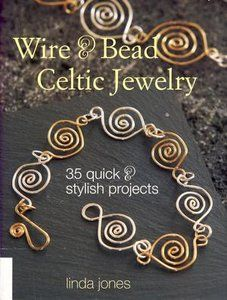 How to Make Celtic Wire Jewelry http://www.fineofjewelry.com/14k-yellow-gold-emerald-and-diamond-jhoop-earrings.html