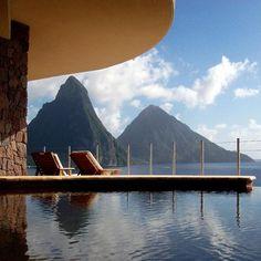 Jade mountain st lucia resort caribbean all-inclusive