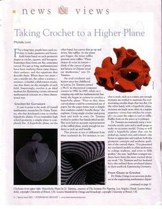 Taking Crochting to a Higher Plane