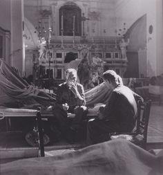 A make shift church hospital in Maiori, Italy 1943/Robert Capa