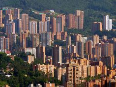 medellin, nowhere else to spread to but up....