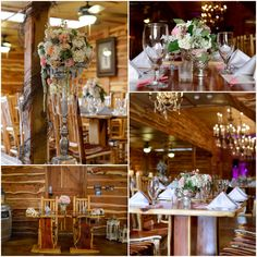 Texas ranch wedding reception