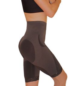 Thighs Slimming Bodyshaper - pops out your booty, while slimming the thights.  High-waist to hide love handles and sagging tummy.  $38.55
