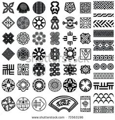 stock vector : Ethnic design elements