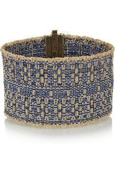 Carolina Bucci's woven cuff