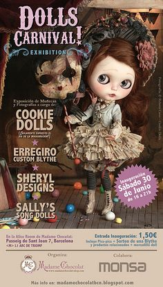 Cookie dolls exhibition by Rebeca Cano ~ Cookie dolls, via Flickr